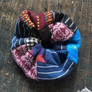 ave&jig jumbo scrap scrunchie in Matchstick